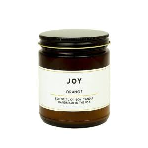 ACDC Candle Co Joy Orange Essential Oil Aromatherapy Candle