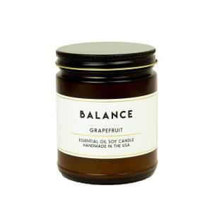 ACDC Candle Co Balance Grapefruit Essential Oil Aromatherapy Candle