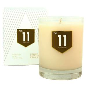 ACDC Candle Co No. 11 Amber Cinnamon Scented Soy Candle
