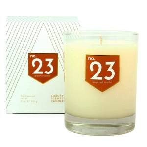 ACDC Candle Co No. 23 Grapefruit Jasmine Scented Soy Candle