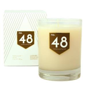 ACDC Candle Co No. 48 Sandalwood Fig Leaf Scented Soy Candle