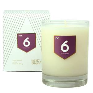 ACDC Candle Co No. 6 Lotus Amber Scented Soy Candle