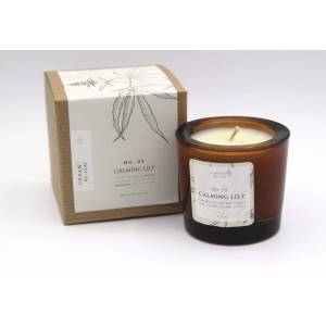 Urban Re-Leaf 25 Calming Lily Coconut Wax Candle
