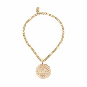 Haati Chai Anna Coin Anklet 18K Yellow Gold by AHAlife  - Multicolor - Size: One Size
