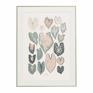 Baltic Club Caladiums Art Print