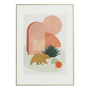 Baltic Club California Desert (Bear) Art Print