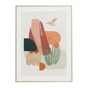 Baltic Club California Desert (Pelican) Art Print