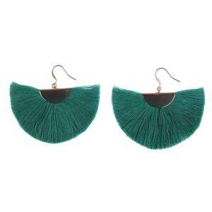 Slate & Salt Half Moon Fan Earrings  - multicolor - Size: One Size
