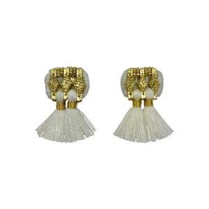 Slate & Salt Jhumka Earrings  - multicolor - Size: One Size