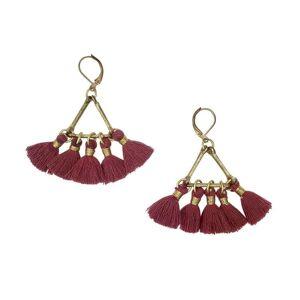 Slate & Salt Lola Fan Earrings  - multicolor - Size: One Size