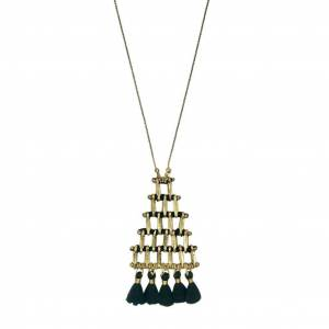 Slate & Salt Kai Pyramid Necklace  - multicolor - Size: One Size