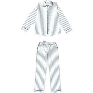Phriya Men's Blue Palmarola Long Pajama Set  - multicolor - Size: One Size