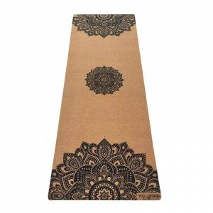 Yoga Design Lab 1.5mm Travel Cork Yoga Mat