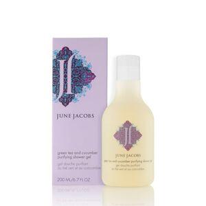 June Jacobs Green Tea and Cucumber Purifying Shower Gel - 200 ml / 6.7 fl oz