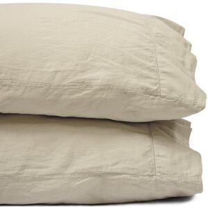 Jennifer Adams® King Flax Linen Relaxed Cotton Sateen Pillowcase by Jennifer Adams®