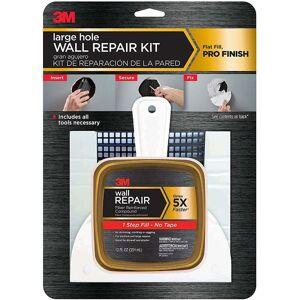 3M Fpp-kit Large Hole Wall Repair Kit, 12 Oz