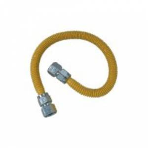 """BrassCraft Brass Craft Cssc22-36p Procoat Gas Range Connector, 36"""""""