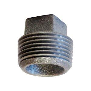 """Anvil 318902681 Mpt Cored Square Head Plug, Cast Iron, 3-1/2"""""""