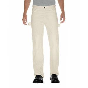 "Dickies 2053nt 3234 Men's Double Knee Pants, Cotton, Natural, 32"" X 34"""