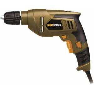 """Rockwell Ss3003 Shopseries Electric Drill, 3/8"""", 4.5 Amp"""