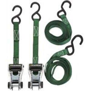 Smartstraps 338 Tie Down Ratchetx 10', Green
