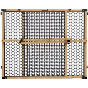"""Safety 1st Ga035 Naturals Bamboo Security Gate 24"""", Black"""