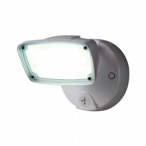 Halo Fss153tw Outdoor Integrated Led Small-head Security Flood Light, 17 Watts