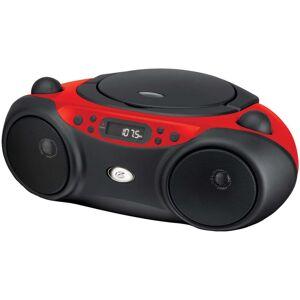 Gpx Bc232r Boom Box Am/fm/cd Player