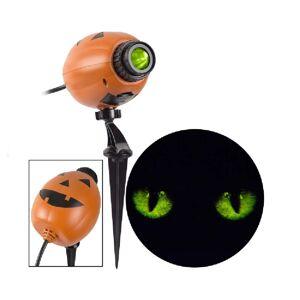 "Gemmy 223784 Halloween Blinking Cat Eyes Lightshow Projector, 12.40"" H"