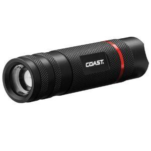 Coast 21664 Aaa Led Flashlight, Black, 370 Lumens