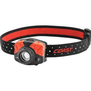 Coast 20485 Head Lamp, Black/red, 400 Lumens
