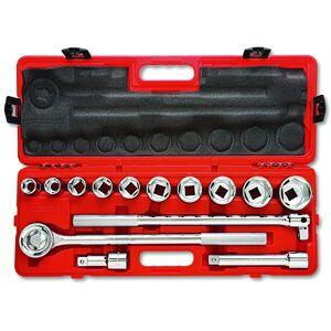 "Crescent Ctk14me 3/4"" Drive Metric Mechanics Tool Set, 14 Piece"