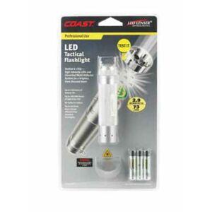 Coast Tt7345scp Led Tactical Flashlight, 73 Lumens