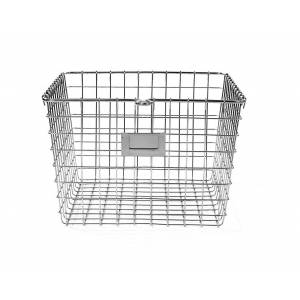 "Spectrum 47970 Medium Storage Basket, 13-3/4"" X 11-7/8"" X 8"", Chrome"