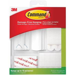 Command 17213-es Picture Hanging Kit, Assorted