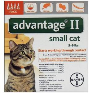 Bayer 81520208-aoc Advantage Ii Flea & Tick Drops, 0.056 Oz