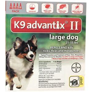 Bayer 81520399-axr K9 Advantix Ii Flea & Tick Drops, 0.34 Oz