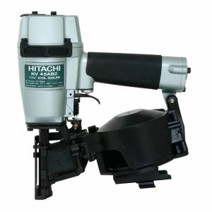 """Hitachi Nv45ab2m Coil Roofing Nailer, 1-3/4"""""""