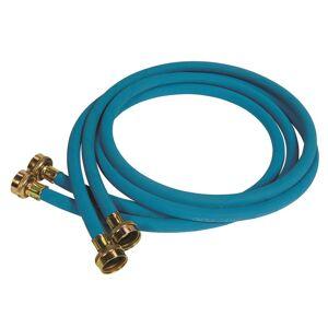 Samar Wa0677006 Washing Machine Hose, Rubber, Blue, 6'