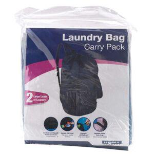 Homz 1220225 Back Pack Laundry Bag, Assorted Color