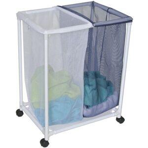 Homz 4540010 Double Laundry Sorter, Multicolored