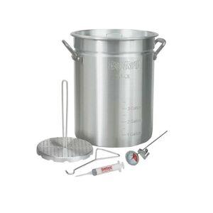 Bayou Classic 3025 Turkey Fryer Pot With Accessories, 30 Quart