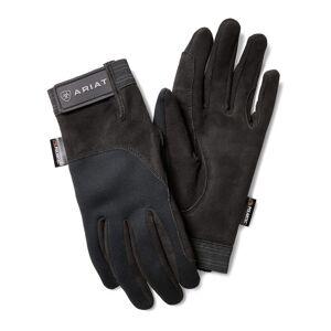 Ariat Insulated Tek Grip Gloves in Black, Size 9 by Ariat