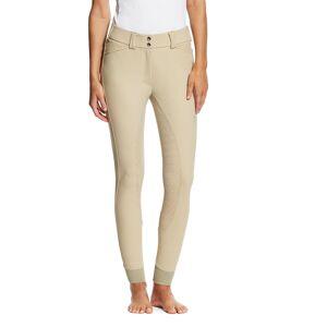 Ariat Women's Tri Factor Grip Full Seat Breech Riding Pants in Tan, Size 36 Long by Ariat
