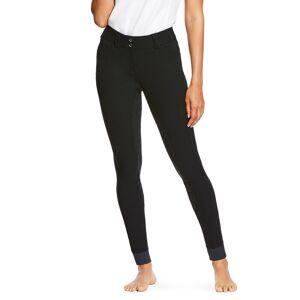 Ariat Women's Tri Factor Grip Full Seat Breech Riding Pants in Black, Size 26 Regular by Ariat