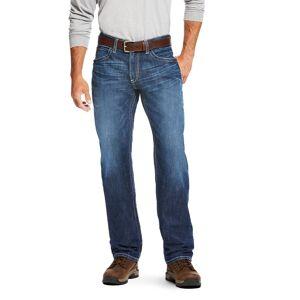 "Ariat Men's Flame-Resistant M3 Loose DuraStretch Vortex Stackable Straight Leg Jeans in Titanium Cotton, 34 X 38 38"" by Ariat"