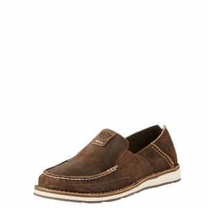 Ariat Men's Cruiser Shoes in Rough Oak Leather, Size 10 EE / Wide by Ariat