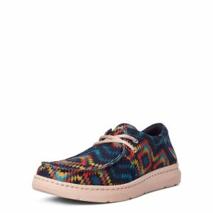 Ariat Men's Hilo Boots in Blue Aztec, Size 8 D / Medium by Ariat