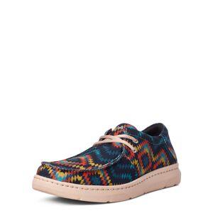 Ariat Men's Hilo Boots in Blue Aztec, Size 10.5 D / Medium by Ariat