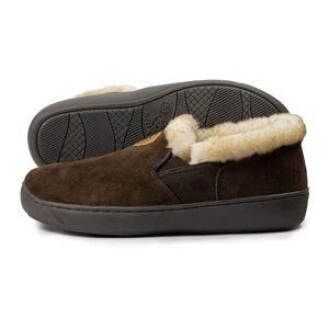 Ariat Men's Suede Slipper Boots in Chocolate, L D / Medium by Ariat